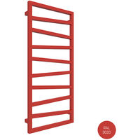 Sèche-serviette électrique - Rouge - Zigzag/E8 (plusieurs tailles disponibles)