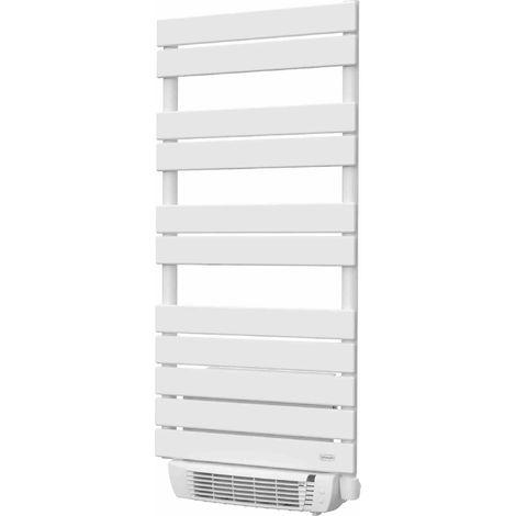 Sèche-serviette Fluide 600+1000W( soufflerie ) Mod : LIO + S , coloris Blanc