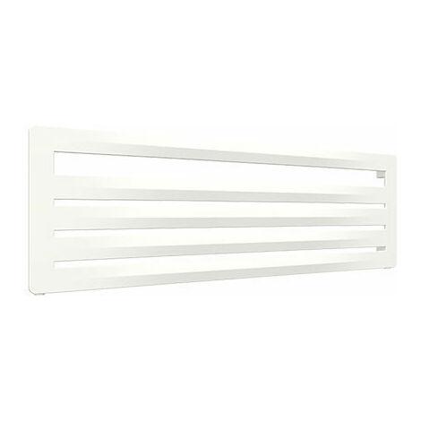 Sèche-serviette horizontal blanc - Chauffage Central - Raccordement à droite - Aéro HG/YPB (plusieurs tailles disponibles)