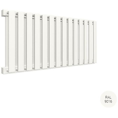 Sèche-serviette horizontal - Chauffage Central - Blanc - Nemo/YPB (plusieurs tailles disponibles)