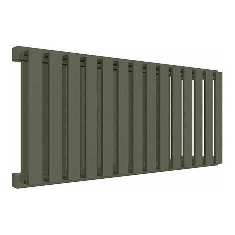 Sèche-serviette horizontal - Chauffage Central - Couleur au choix - Raccordement à gauche - Nemo/YL (plusieurs tailles disponibles)