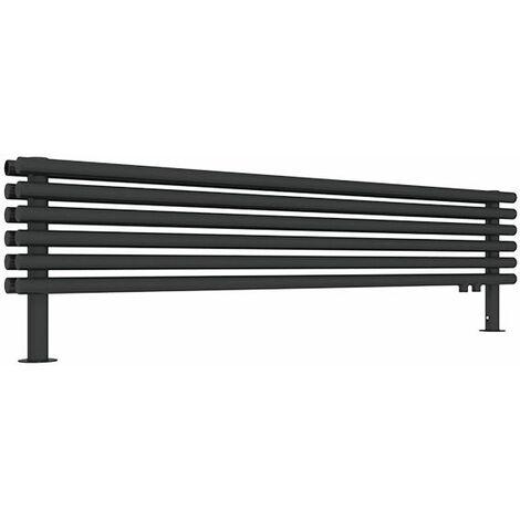 Sèche-serviette horizontal - Chauffage Central - Noir Mat - Tune HSD/YPN (plusieurs tailles disponibles)