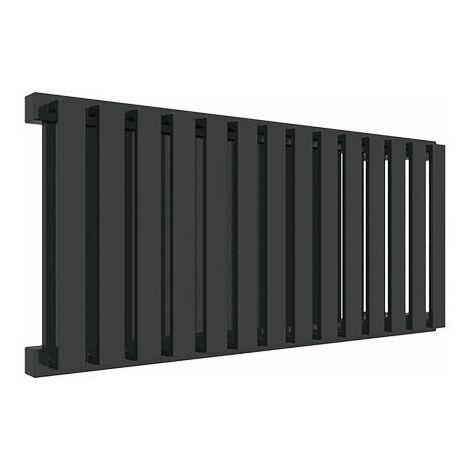 Sèche-serviette horizontal - Chauffage Central - Noir - Nemo/YLN (plusieurs tailles disponibles)