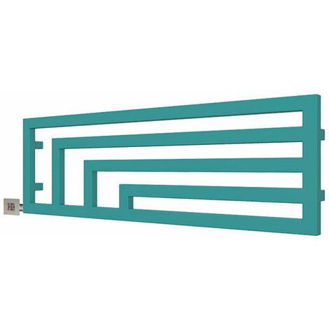 Sèche-serviette horizontal électrique - Couleur au choix - Raccordement à gauche - Angus/E2 (plusieurs tailles disponibles)