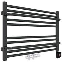 Sèche-serviette horizontal - Mixte - Noir Mat - Lima/Z8N (plusieurs tailles disponibles)