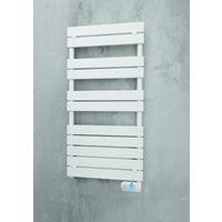 Sèche-serviette lame droite Ancodesign électrique 750W - Blanc