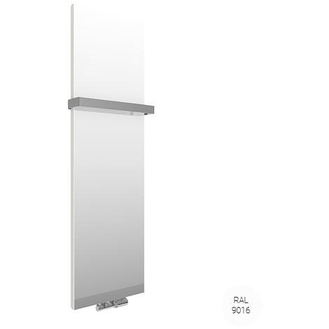 Sèche-serviette miroir - Chauffage Central - Blanc - Case Slim/ZXB (plusieurs tailles disponibles)
