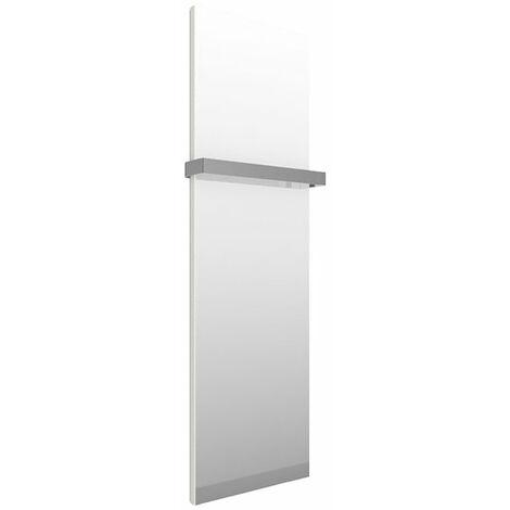 Sèche-serviette miroir - Electrique - Blanc - Case Slim/E1B (plusieurs tailles disponibles)