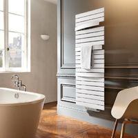 Sèche-serviette mixte Arborescence Smart blanc 750W - collecteur à droite
