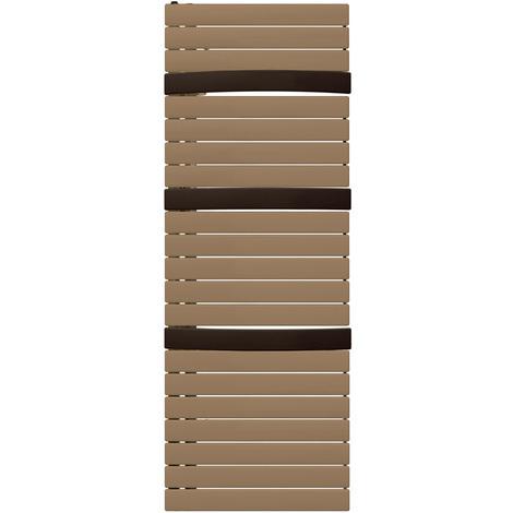 Sèche-serviette mixte Arborescence Smart bronze/brown 1000W - collecteur à droite