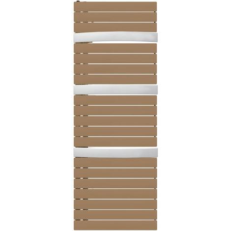 Sèche-serviette mixte Arborescence Smart bronze/white 1000W - collecteur à droite