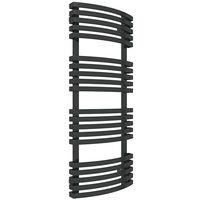 Sèche-serviette mixte - Noir Mat - Kioto/V2N (plusieurs tailles disponibles)