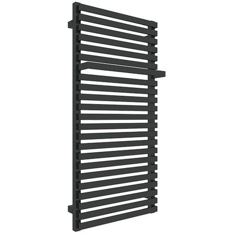 Sèche-serviette mixte - Noir Mat - Simple/Z8N (plusieurs tailles disponibles)