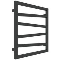 Sèche-serviette mixte - Noir Mat - Zigzag/Z8N (plusieurs tailles disponibles)