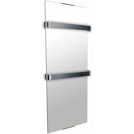 sèche-serviette rayonnant 900w miroir - 112 - cheminarte