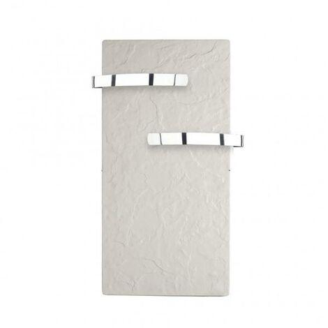 Sèche-serviette rayonnant SLIM 2.0 Ardoise Blanche 800W - Valderoma 01800TL