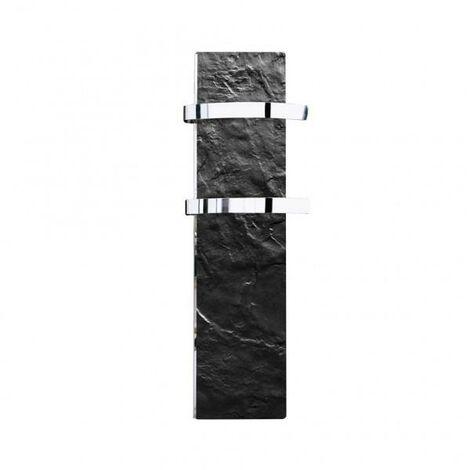 Sèche-serviette rayonnant SLIM 2.0 Ardoise Noire 500W - Valderoma 02500TL