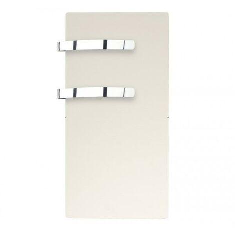 Sèche-serviette rayonnant SLIM 2.0 Blanc Cachemire 800W - Valderoma 05800TL