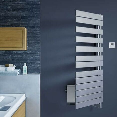Sèche-serviette Soufflant ACOVA - REGATE Twist + Air électrique pivot à droite 1750W (750W+1000W) TXCR075-055IFS