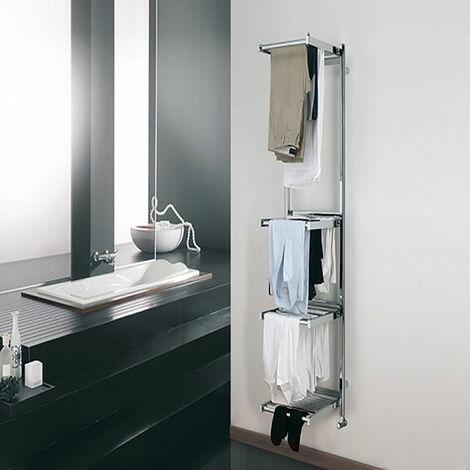 Sèche-serviette + tablette étendage - Couleurs pastel - Grande tablette/ZX (plusieurs tailles disponibles)