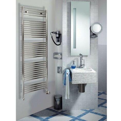 Sèche-serviettes à eau chaude ACOVA Atoll Spa chromé