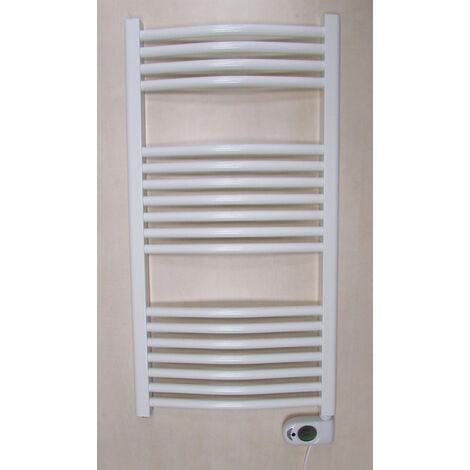 sèche-serviettes à inertie fluide 450w blanc - 0.636.032 - ducasa