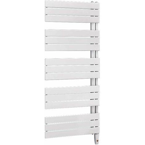 Sèche-serviettes ARBORESCENCE Electrique 750W Collecteurs droite - Blanc