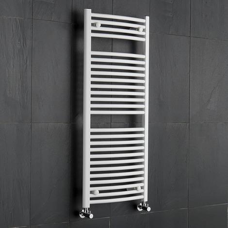 Sèche-Serviettes Blanc Etna 120cm x 50cm x 5,6cm 699 Watts