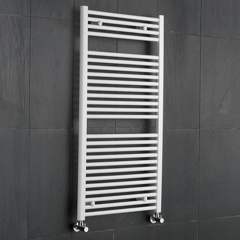Sèche-Serviettes Blanc Etna 120cm x 60cm x 7,8cm 815 Watts