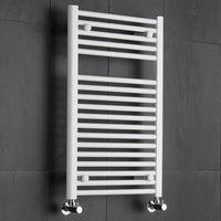 Sèche-Serviettes Blanc Etna 80cm x 50cm x 7,8cm 474 Watts