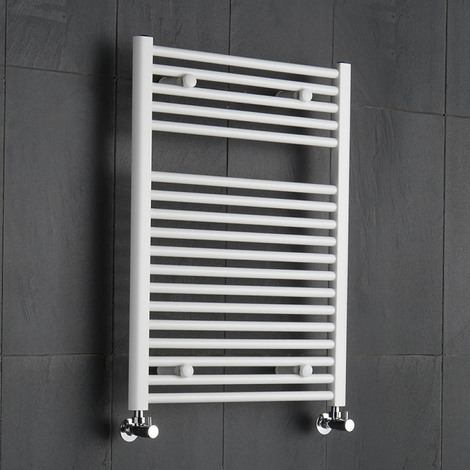 Sèche-Serviettes Blanc Etna 80cm x 60cm x 7,8cm 567 Watts