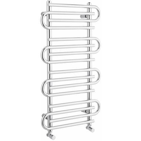 Sèche-Serviettes Chromé Select 90cm x 51cm x 6,5cm 357 Watts