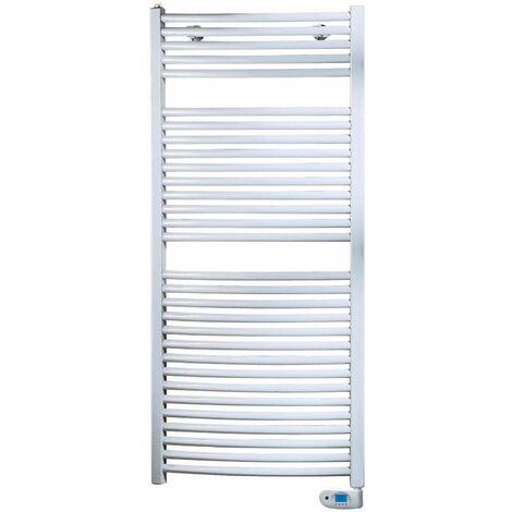 Sèche serviettes cintré Adesio blanc électrique DE 500w A 1000w
