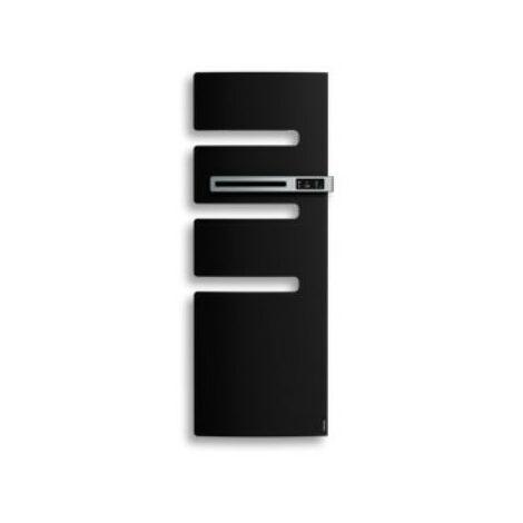 Sèche-serviettes connecté Serenis - Mât à droite - 750W - Noir