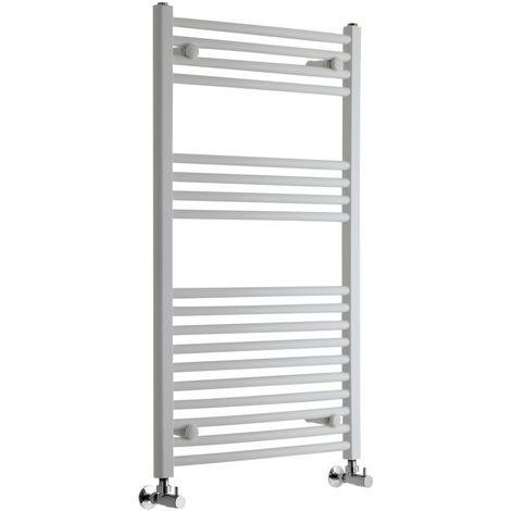 Sèche-Serviettes Design – Blanc – 100 x 60cm Incurvé – Etna