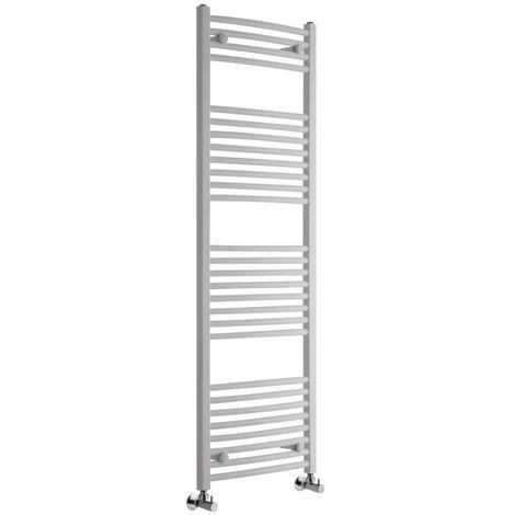 Sèche-Serviettes Design – Blanc – 150 x 50cm Incurvé – Etna