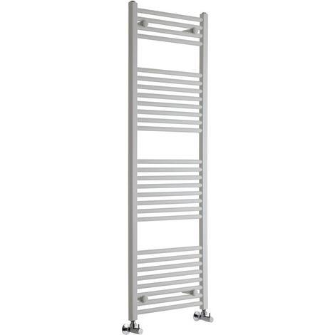 Sèche-Serviettes Design – Blanc – 150 x 50cm Plat – Etna