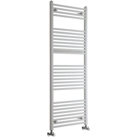 Sèche-Serviettes Design – Blanc – 150 x 60cm Plat – Etna