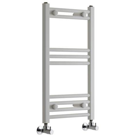 Sèche-Serviettes Design – Blanc – 70 x 40cm Plat – Etna