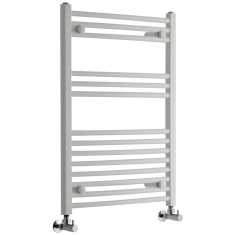 Sèche-Serviettes Design – Blanc – 80 x 60cm Incurvé – Etna