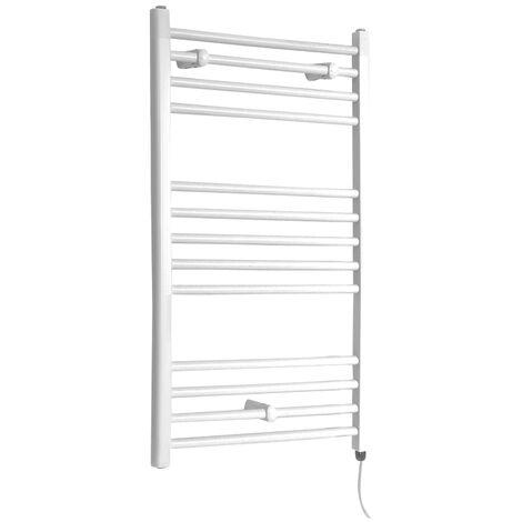 Sèche-Serviettes Design Électrique – Blanc – 100 x 60cm Plat – Etna