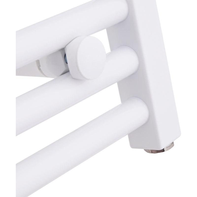 Sèche Serviettes Design électrique Blanc 180 X 60cm Incurvé Etna