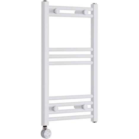 Sèche-Serviettes Design Électrique – Blanc – 70 x 40cm Plat – Etna
