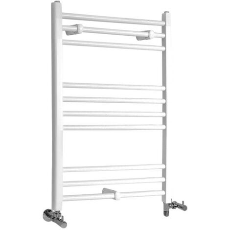 Sèche-Serviettes Design Mixte – Blanc – 80 x 60cm Plat – Etna