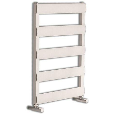 Sèche-Serviettes Design Plat en Aluminium – Blanc – 79 x 50cm – Ordo