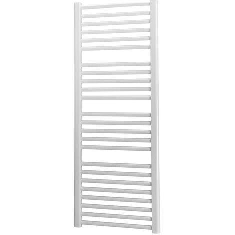 Sèche-serviettes eau chaude acier TAHITI 576W - Blanc