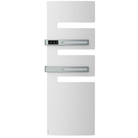 Sèche-serviettes électrique ATLANTIC 1750W (750W+1000W) Mât à gauche SERENIS Premium soufflant
