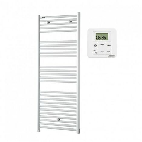 Sèche-serviettes électrique Atoll - 500W - Blanc