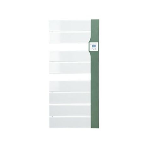 Sèche-serviettes électrique Balina 2 - Avec soufflerie - 650+1000W - Vert argile