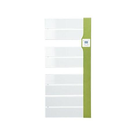 Sèche-serviettes électrique Balina 2 - Avec soufflerie - 650+1000W - Vert vif